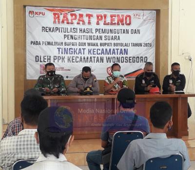 TNI Polri Kawal Rapat Pleno Terbuka