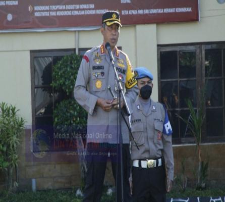 Apel Jam Pimpinan, Kapolresta Banjarmasin Sampaikan Pesan Terkait Pelaksanaan Tugas