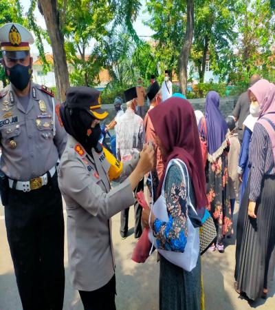 Kapolres Tanjung Perak Kunjungi Wisata Religi Ampel