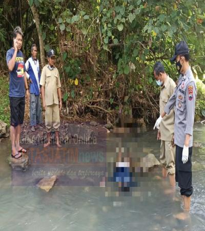 Remaja Ditemukan Warga Meninggal di Sungai, dalam Keadaan Tertelungkup