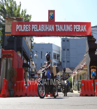 Pelepasan Distribusi Daging Kurban Di Polres Tanjung Perak