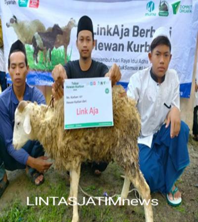 LinkAja Bersama Dompet Dhuafa Berbagi Hewan Kurban, Menyambut Hari Raya Idul Adha 1442H