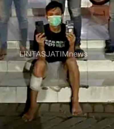 Pelaku Pencurian di Jalan Jawar Kauman Pakal, Sewaktu Mandi Ditangkap Petugas