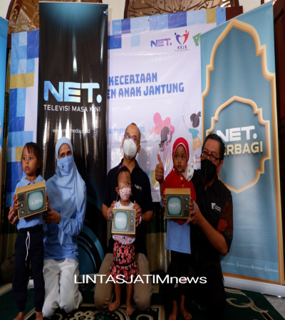 Meriahkan Hari Jatung Sedunia, NET, Dompet Dhuafa Dan KKJB Berbagi Keceriaan Bersama Anak-anak Penyintas Jantung