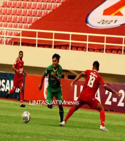 Dengan 10 Orang Pemain, Hizbul Wathan FC Seri 1-1 Lawan Persijap