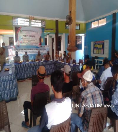 ATR/BPN Gresik Adakan Penyuluhan PTSL di Desa Kepatihan